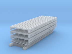 1/64 3 high 12ft PR mesh Extension in Smooth Fine Detail Plastic