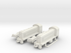 ALCO S1 US Locomotive, 1/200 in White Natural Versatile Plastic