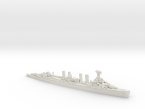 USN CL6 Cincinnati [1944] in White Natural Versatile Plastic: 1:1800