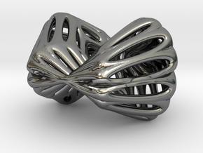 Klein Chopstick Rest (002) in Polished Silver