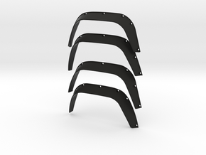 Wheel arch set Spectre 007 D110 Team Raffee in Black Natural Versatile Plastic