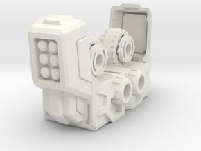 Lavi Combiner Knees 2 of 2 in White Natural Versatile Plastic