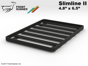 FR10030 Front Runner Slimline II Rack 4.8 x 6.5 in Black Strong & Flexible