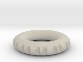my rodin coil 70 x 70 x 14 mm in Natural Sandstone