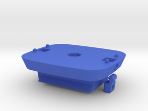Locking Kinect mount with ARCA baseplate in Blue Processed Versatile Plastic