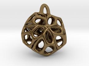Medaillon 1 in Natural Bronze