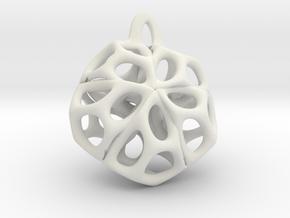 Medaillon 1 in White Natural Versatile Plastic