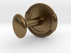 DIVER CUFFLINKS (single) in Natural Bronze