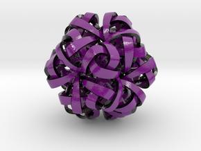 Dodecaplex in Glossy Full Color Sandstone