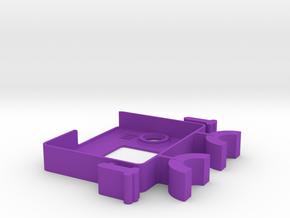 MicroBitoons 1 in Purple Processed Versatile Plastic