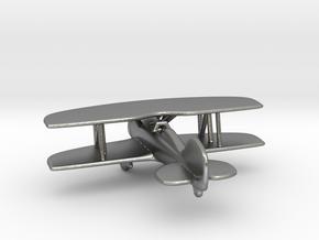 Biplane in Natural Silver