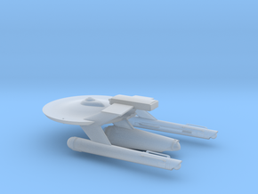 23rd Century Combat USS GANYMEDE in Smooth Fine Detail Plastic