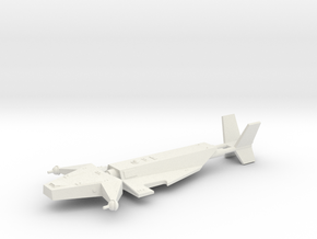 Omni Scale Juggernaut Heavy Cruiser SRZ in White Natural Versatile Plastic