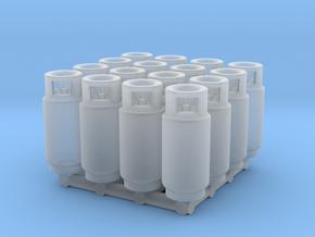 LPG Tank (HO - 1:87) 16X in Smooth Fine Detail Plastic