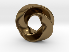 Luknot in Polished Bronze