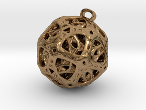 spectral jewel in Natural Brass