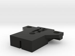 TM Recoil Contact Bar Cover in Black Natural Versatile Plastic