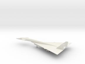North American XB-70 Valkyrie in White Natural Versatile Plastic: 1:500