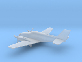 Beechcraft Baron G58 in Frosted Ultra Detail: 1:200