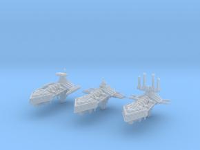 Insurgent Frigates (3) in Smooth Fine Detail Plastic