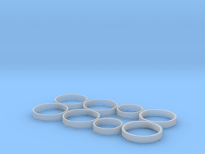 HO Ring Load in Smooth Fine Detail Plastic