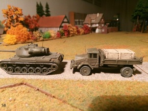 German MAN 630 5to Cargo Truck 1/144 in Smooth Fine Detail Plastic