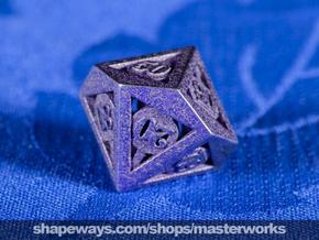 Deathly Hallows d00 in Polished Bronzed Silver Steel
