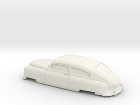 1/32 1949-50 Nash Ambassador Coupe in White Natural Versatile Plastic