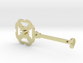 HEART KEY (MALE) in 18k Gold
