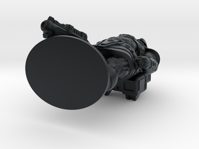 Skuxxoid 35mm Tall (Titan Master Scale) in Black Hi-Def Acrylate