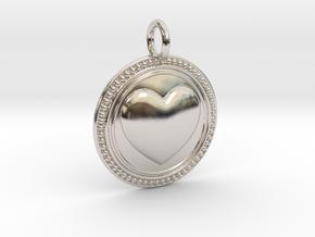 NewCompassionHeart in Platinum