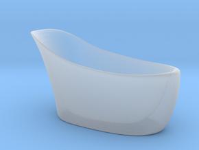 Miniature Amalfi Bathtub -  Victoria + Albert in Smooth Fine Detail Plastic: 1:24