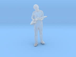 Printle F Eric Clapton - 1/87 - wob in Smooth Fine Detail Plastic