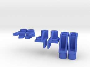 Galaxy Frame Mount Set in Blue Processed Versatile Plastic