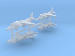 1/700 Sea Harrier FA Mk.2 (x4) in Smooth Fine Detail Plastic