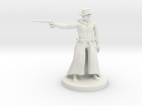 Elven  Gunslinger in White Natural Versatile Plastic