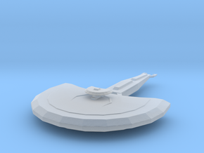 Cardassian Light Cruiser in Smooth Fine Detail Plastic