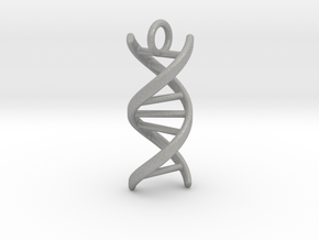 DNA (customizable: size, pendant, text) in Aluminum