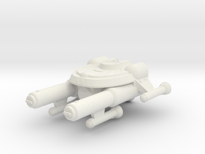 3125 Scale Seltorian Heavy Destroyer (HDD) MGL in White Natural Versatile Plastic