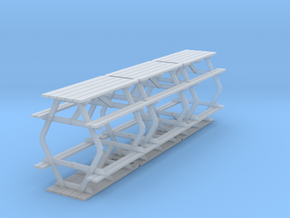 picnic table in Smooth Fine Detail Plastic