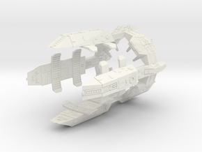 Turanic Outpost (1:7200) in White Natural Versatile Plastic