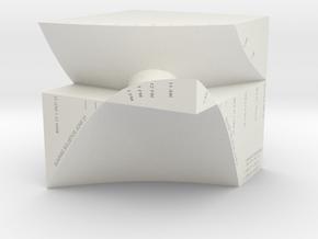 "M-04: ""Manhattanhenge"" by Studio Wassman in White Strong & Flexible"