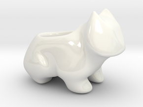Cutie Plain in Gloss White Porcelain