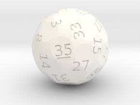d35 oddball die in White Processed Versatile Plastic