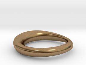 wedding ring  in Natural Brass: 8 / 56.75