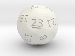 d23 oddball die in White Premium Strong & Flexible