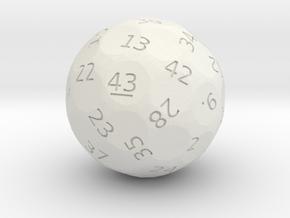 d43 oddball die in White Premium Strong & Flexible
