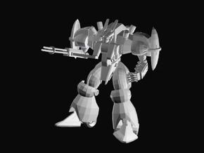 Defense robot in White Strong & Flexible