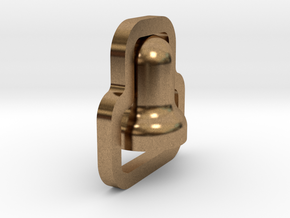 BMA-006 MRR Bell in Natural Brass