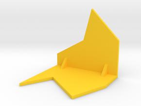 Common Angles Bevel Gauge in Yellow Processed Versatile Plastic